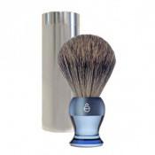 E Shave Homme - Blaireau de voyage Bleu - Rasoir & blaireau