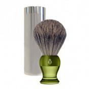 E Shave Homme - Blaireau de voyage Vert - Rasoir & blaireau