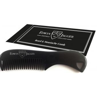 Peigne à Barbe & Moustache noir - Edwin Jagger