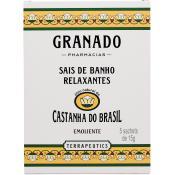 Granado Homme - Sels de bains Castanha do Brasil  5 x 15g - Hydratant corps