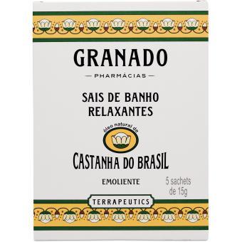 Sels de bains Castanha do Brasil  5 x 15g - Granado