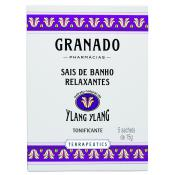 Granado - Sels de bains Ylang Ylang 5 x 15g - Hydratant corps pour homme