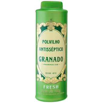 Talc antispetique Granado Fresh