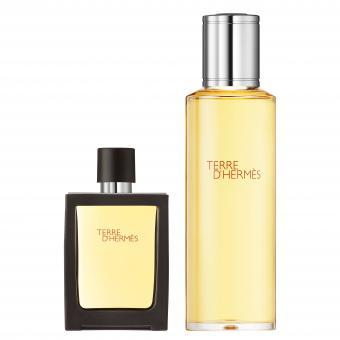 Terre d'Hermès Parfum Vaporisateur 30ml + Recharge 125ml - Hermès