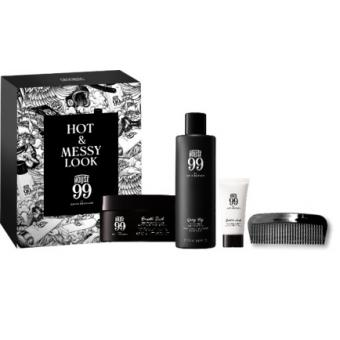 House 99 MEN travel kit Shampoing Densifiant 75ml + Modeling Pomade 15ml + Moisturiser 20ml