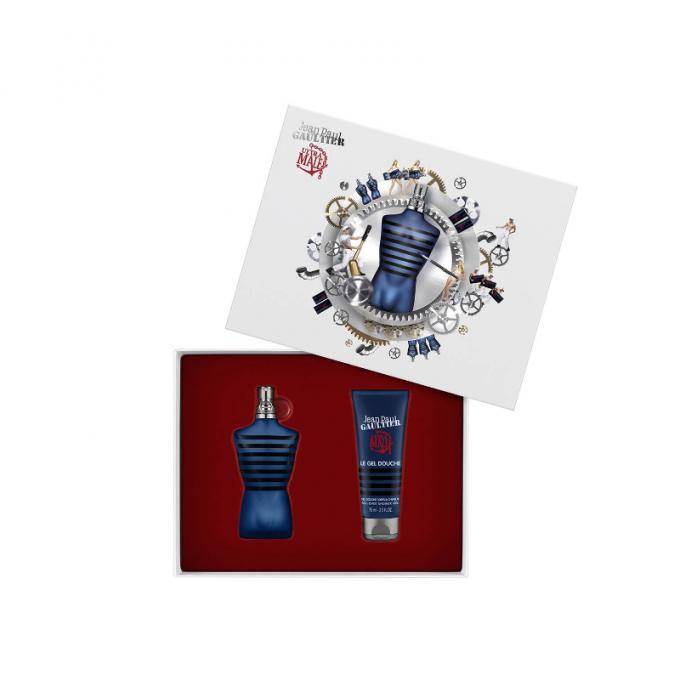 Coffret le m le ultra gel douche 75ml offert jean paul gaultier parfum homme - Gel douche jean paul gaultier le male ...