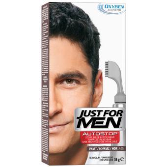 AUTOSTOP Noir - Coloration Cheveux Homme - Just For Men