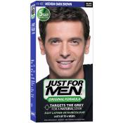 Just For Men Homme - COLORATION CHEVEUX HOMME CHATAIN MOYEN FONCE COULEUR NATURELLE - Coloration Cheveux & Barbe