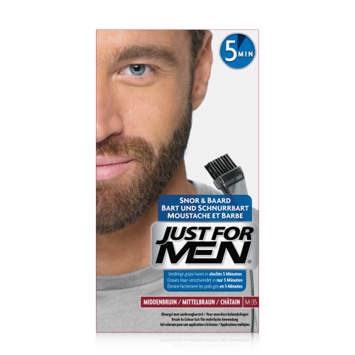 Just For Men - COLORATION BARBE Châtain - Just for men