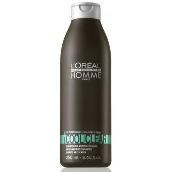 L'OREAL PROFESSIONNEL HOMME SHAMPOOING COOL CLEAR ANTI-PELLICULE