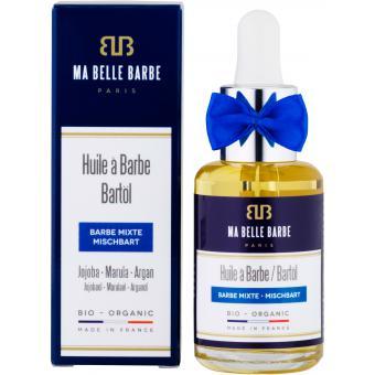 Huile à barbe bio Mr.Blue 30 ml - Ma Belle Barbe