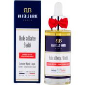Ma Belle Barbe Homme - Huile à barbe bio Mr.Red Barbe Sèche - Rasage - Ma Belle Barbe