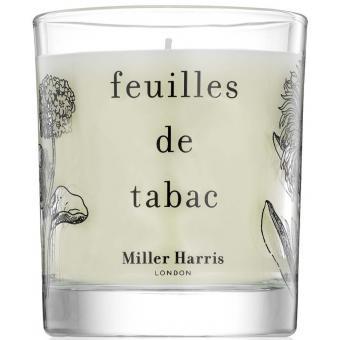 Feuilles de Tabac Bougie 185g - Miller Harris
