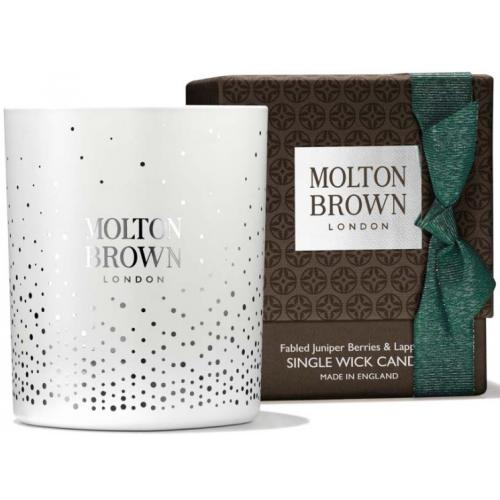 Molton Brown - FABLED JUNIPER BERRIES & LAPP PINE SINGLE WICK BOUGIE - Parfum Homme