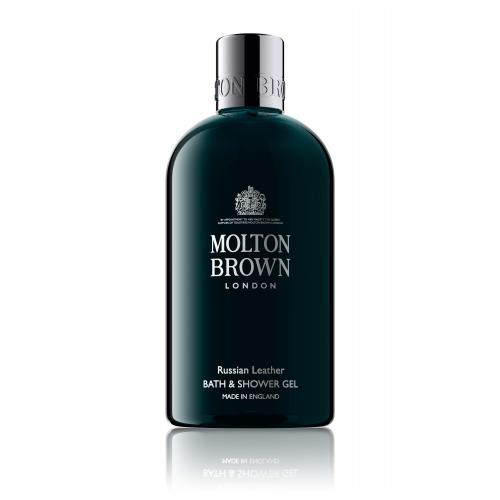 Molton Brown - Gel Douche Russian Leather - Soin corps Molton Brown homme
