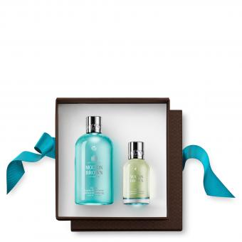 Molton Brown - COFFRET FRAGRANCE COASTAL CYPRESS & SEA FENNEL - Gel douche & savon nettoyant