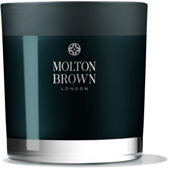 Molton Brown - Bougie 3 Mèches Russian Leather - Molton brown