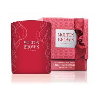 Bougie Décorée Frankincense & Allspice - Molton Brown