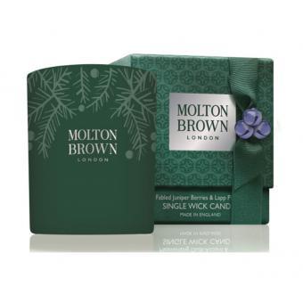 Bougie Décorée Juniper Berries & Lapp Pine - Molton Brown