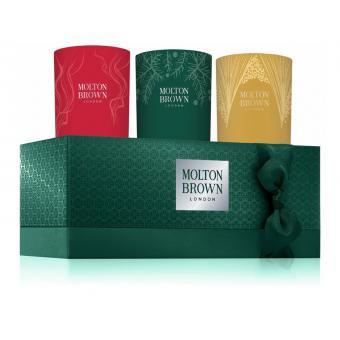 Coffret 3 Bougies Décorées - Molton Brown
