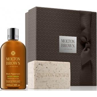 Molton Brown Homme - Coffret de Bain Poivre Noir - Idée Cadeau -