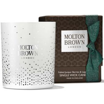 Molton Brown - FABLED JUNIPER BERRIES & LAPP PINE SINGLE WICK BOUGIE - Molton brown