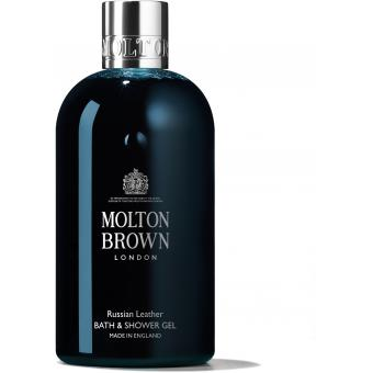 Molton Brown - Gel Douche Russian Leather - Gel douche & savon nettoyant
