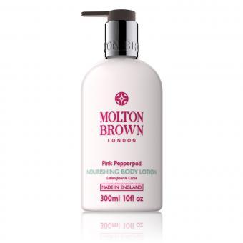 Molton Brown Homme - Lotion Nourissante Corps au Poivre Rose 300ml -