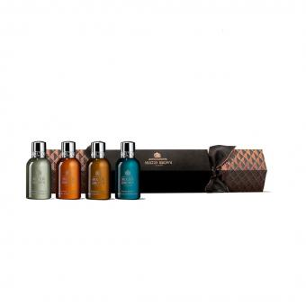 Molton Brown - AROMATIC & WOODY CHRISTMAS CRACKER (Mens - x4 Bath & Shower Gel) - Molton brown