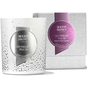 Molton Brown - MUDDLED PLUM SINGLE WICK BOUGIE - NEW - Molton brown