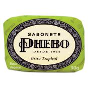 Phebo Homme - Savon en Pain Brisa Tropical - Gel douche & savon
