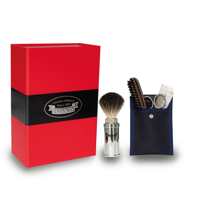 Coffret rasage Plisson