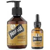 Proraso Homme - Pack Huile & Shampoing à Barbe Wood & Spice -