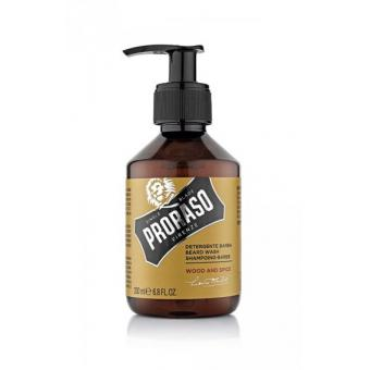 Shampoing à Barbe 200ml Wood & Spice - Proraso