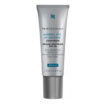 Skinceuticals - Mineral Eye Uv Defense SPF30 - Autobronzant & Soin bonne mine