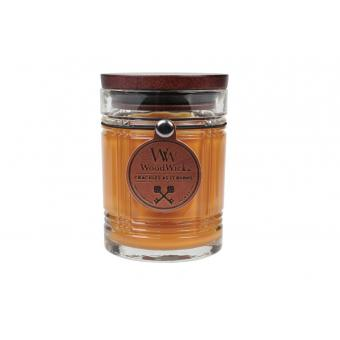 Bougie Reserve Leather Cuir - Woodwick